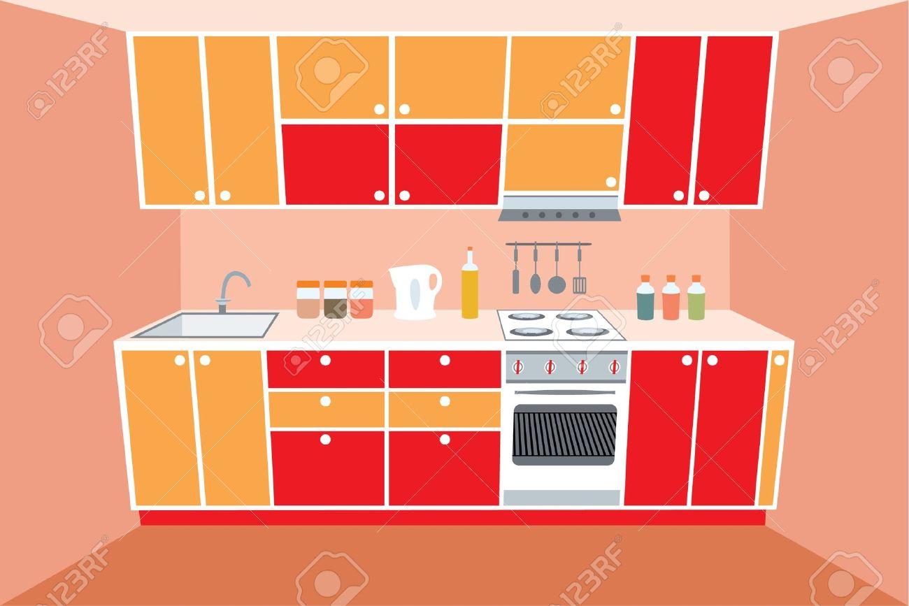 Kitchen clipart kitchen room · Cartoon BangFace Search kitchen