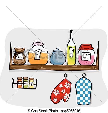Kitchen clipart kitchen shelf Kitchen Shelves Download Kitchen Shelves