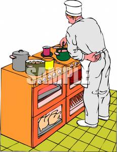 Kitchen clipart kitchen stove Clipart on kitchen a in