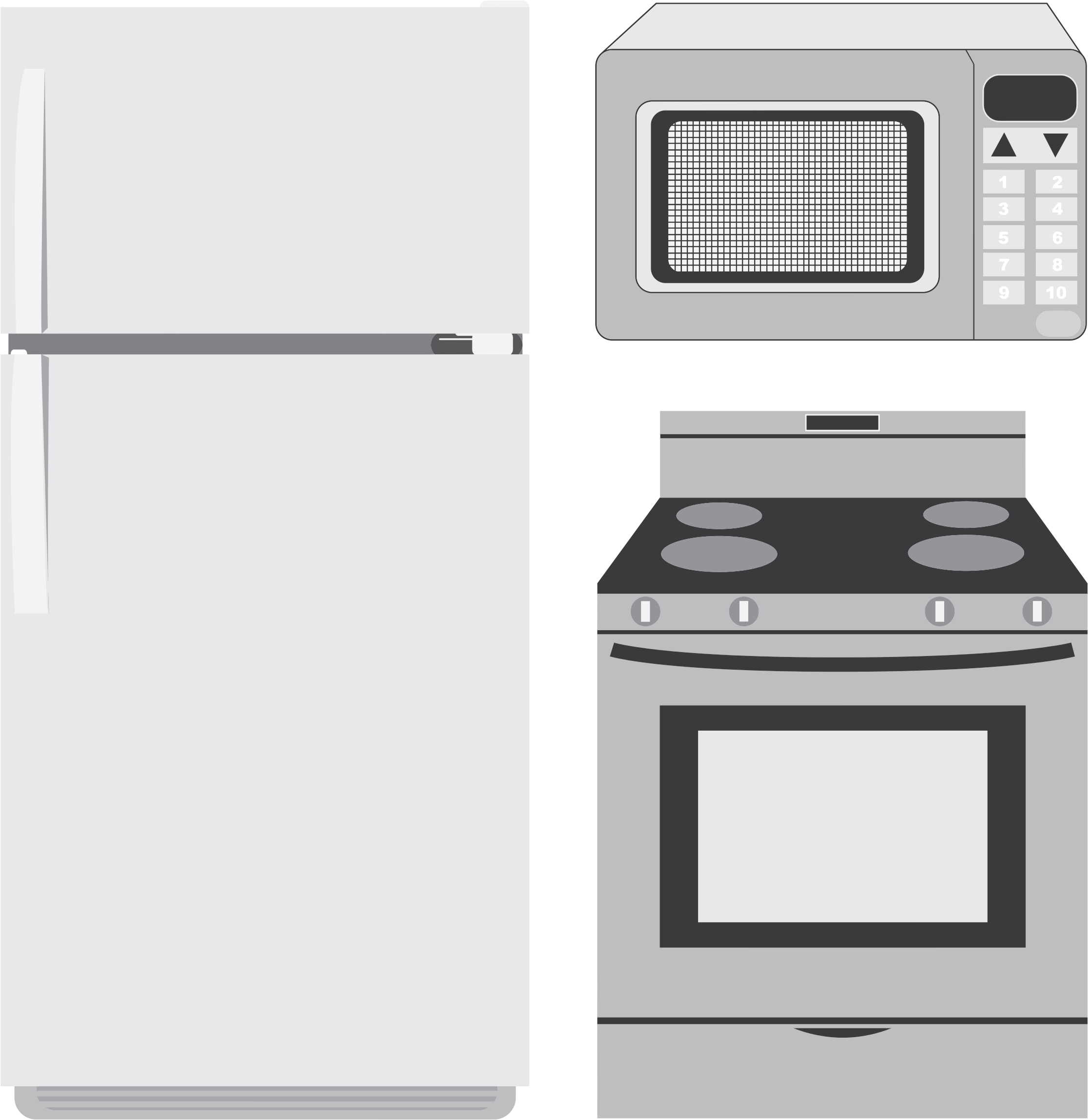 Kitchen clipart kitchen stove Clipart Kitchen Appliances Kitchen Appliances