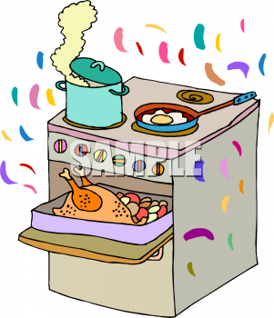 Kitchen clipart kitchen stove Of ·  Picture Cooking