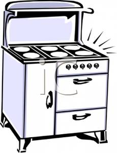 Kitchen clipart kitchen stove White and Clipart A Stove