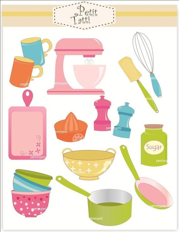 Open clipart kitchen tool #7