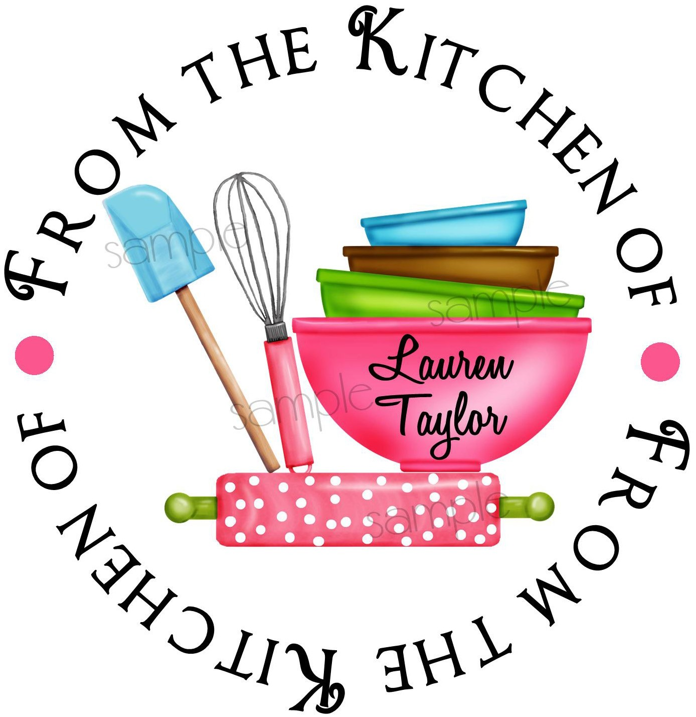 Baking clipart mixing bowl Kitchen Rolling stickers Bowls Pin
