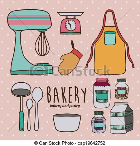 Kitchen clipart kitchen supply Supplies of background over Kitchen