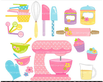 Kitchen clipart kitchen supply Baking Baking Kitchen art Clipart