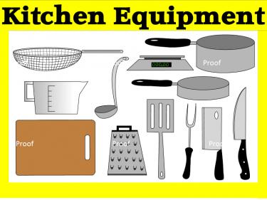 Kitchen clipart kitchen supply Art Supplies Clip Digital Art