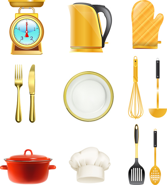 The Kitchen clipart kitchen tool Tools vector) vector collection Kitchen