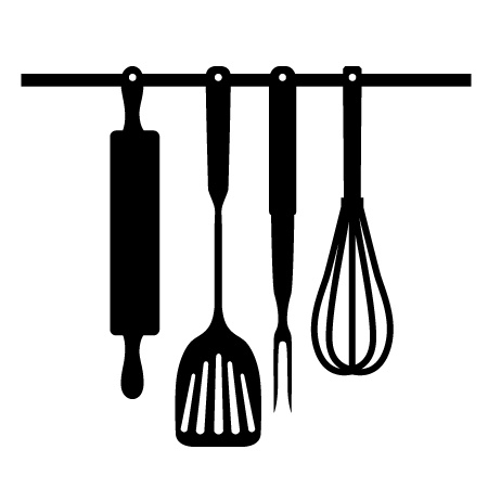 The Kitchen clipart kitchen tool Sign utensils utensil kitchen utensils