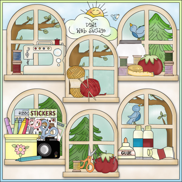 Kitchen clipart kitchen window (41+) Clipart art clip classroom