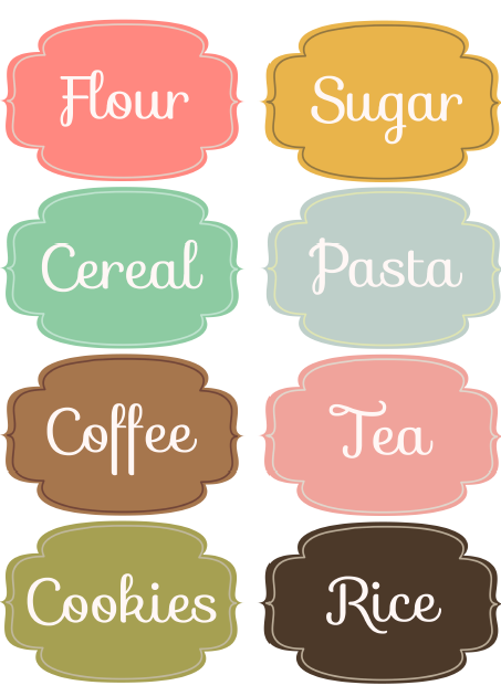 Kitchen clipart label Downloadable keep to  printable