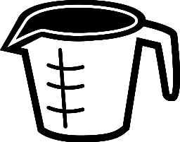 Number clipart 1 cup Of Cup Clipart Measuring Clip