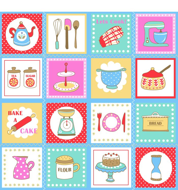 Kitchen clipart printable Clipart about 97 Golden Emily