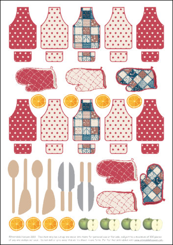 Kitchen clipart printable The the more  Click