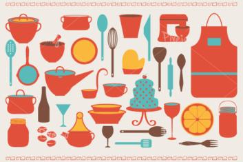 Kitchen clipart printable Clipart > Clip Kitchen Utensils
