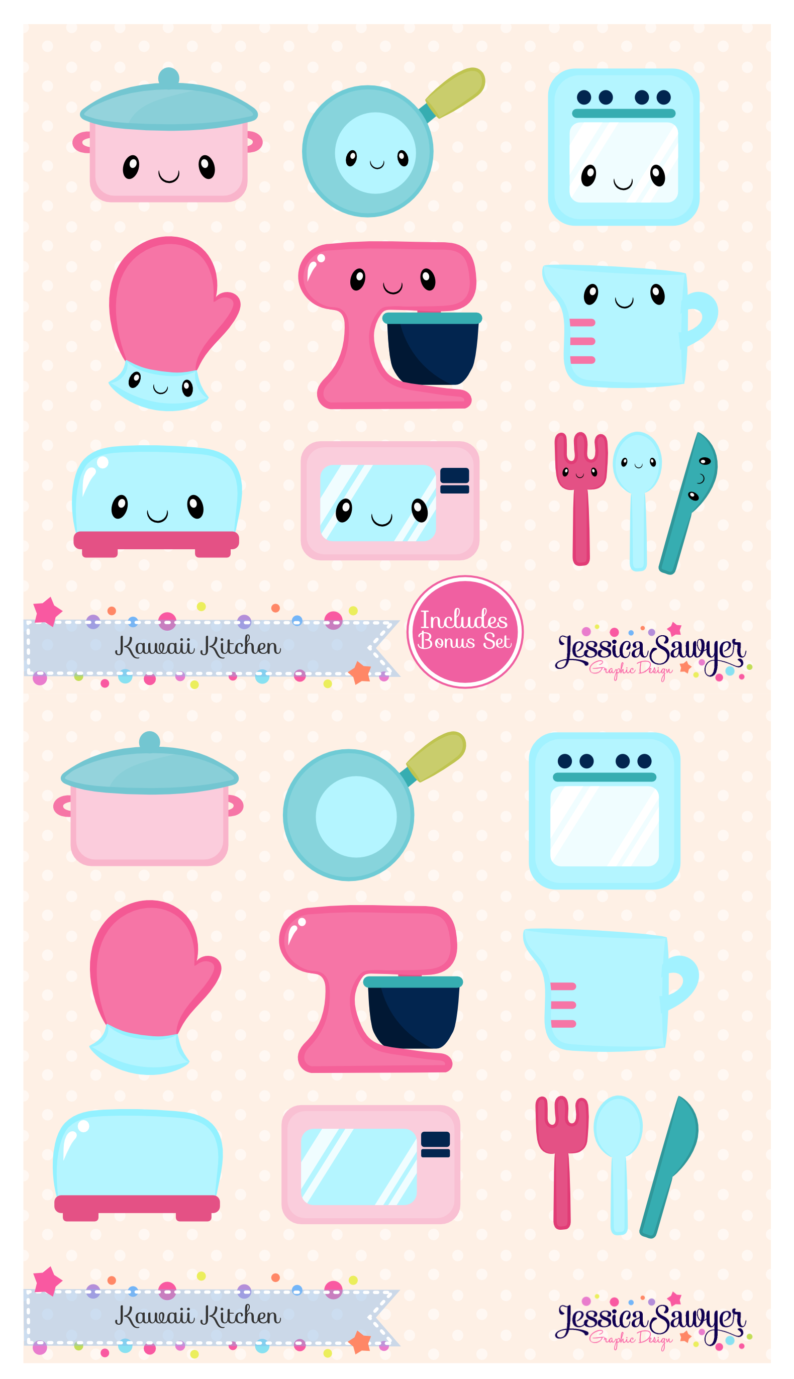 Kitchen clipart printable For crafts and vectors products