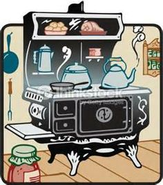 Country clipart grandma Vintage country Collage clipart Cooking