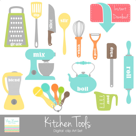 Kitchen clipart small Clipart and Digital Tools Personal