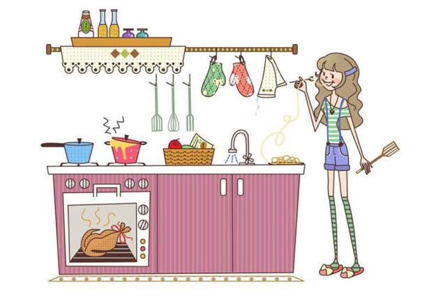 Kitchen clipart tidy Clip kitchen Clipart Illustrations Clean