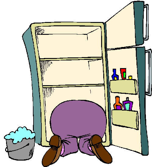 Kitchen clipart tidy Collections BBCpersian7 Clipart Up refrigerator