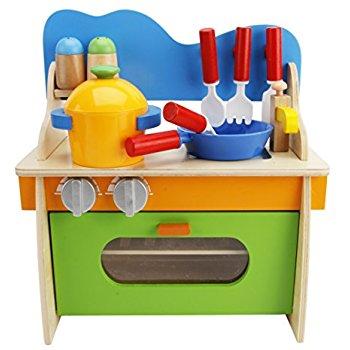 Kitchen clipart toy kitchen Wooden Cook Set Kids Pretend