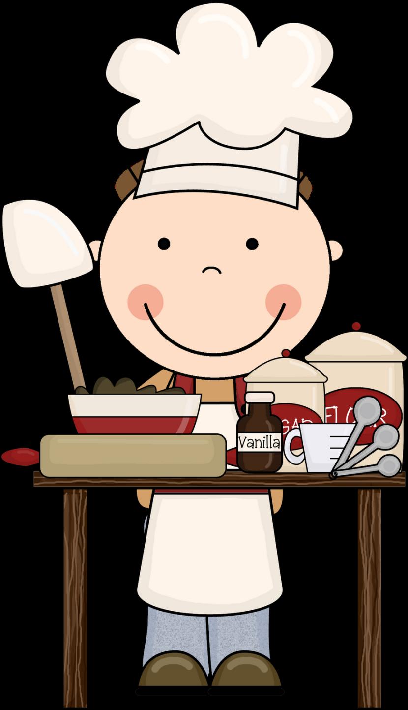Baking clipart chef Art Kitchen Clip Kids Kitchen