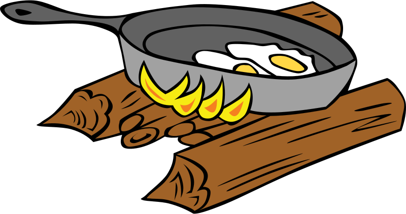 Bonfire clipart campfire cooking And cooking Clipart clipart Panda