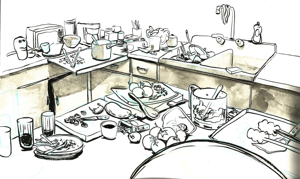 Kitchen clipart unhygienic Sweet Intrigue  Home Horror