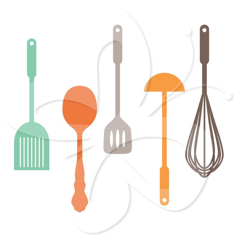 The Kitchen clipart kitchen tool Set Utensils Clip Art Clipart