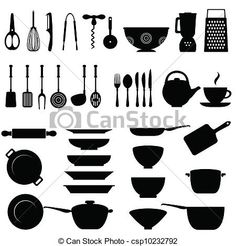 Open clipart kitchen tool #5