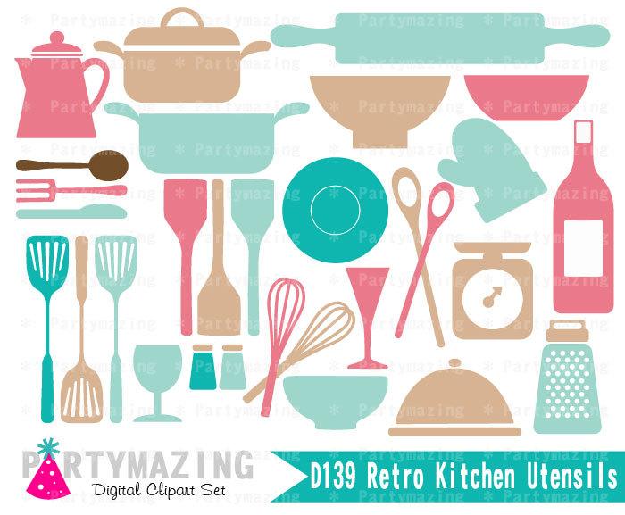 Kitchen clipart vintage kitchen Clipart Utensil Kitchen Kitchen Vintage