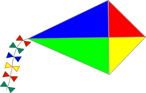 Toy clipart kite #15