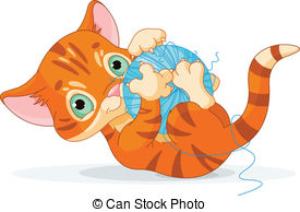 KITTENS clipart Kitten ball kitten free Clipart