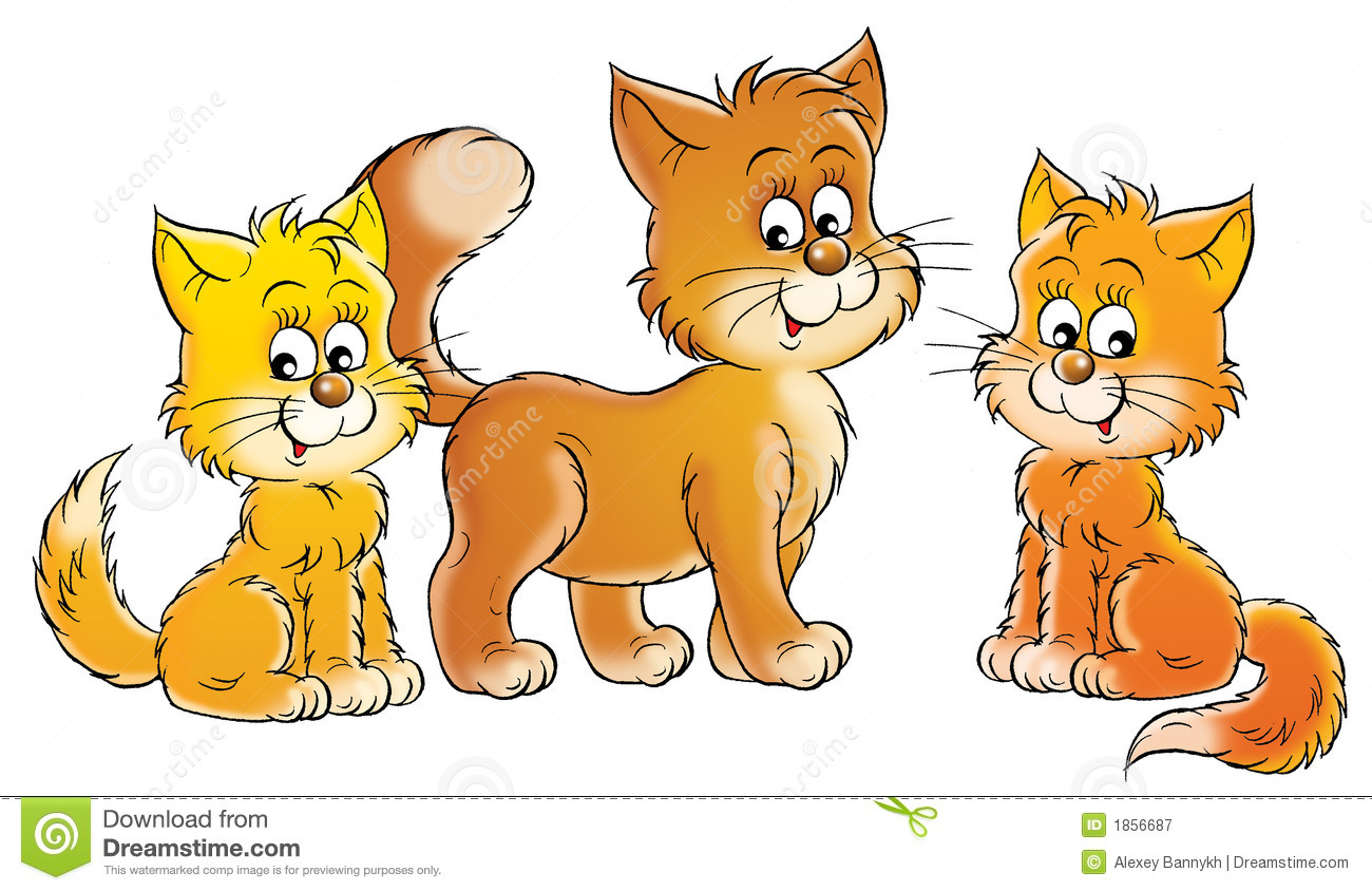 KITTENS clipart Playful Clipart Free Little clipart