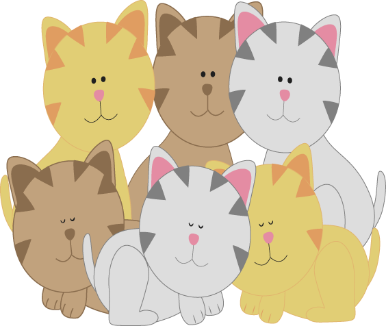 KITTENS clipart Pictures Kitten clipart free Free