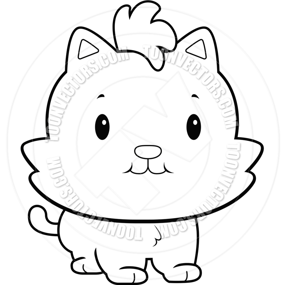 Cat clipart baby cat Baby cats Baby Cute black