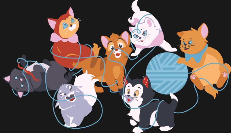 KITTENS clipart berlioz Kittens T The Shirt