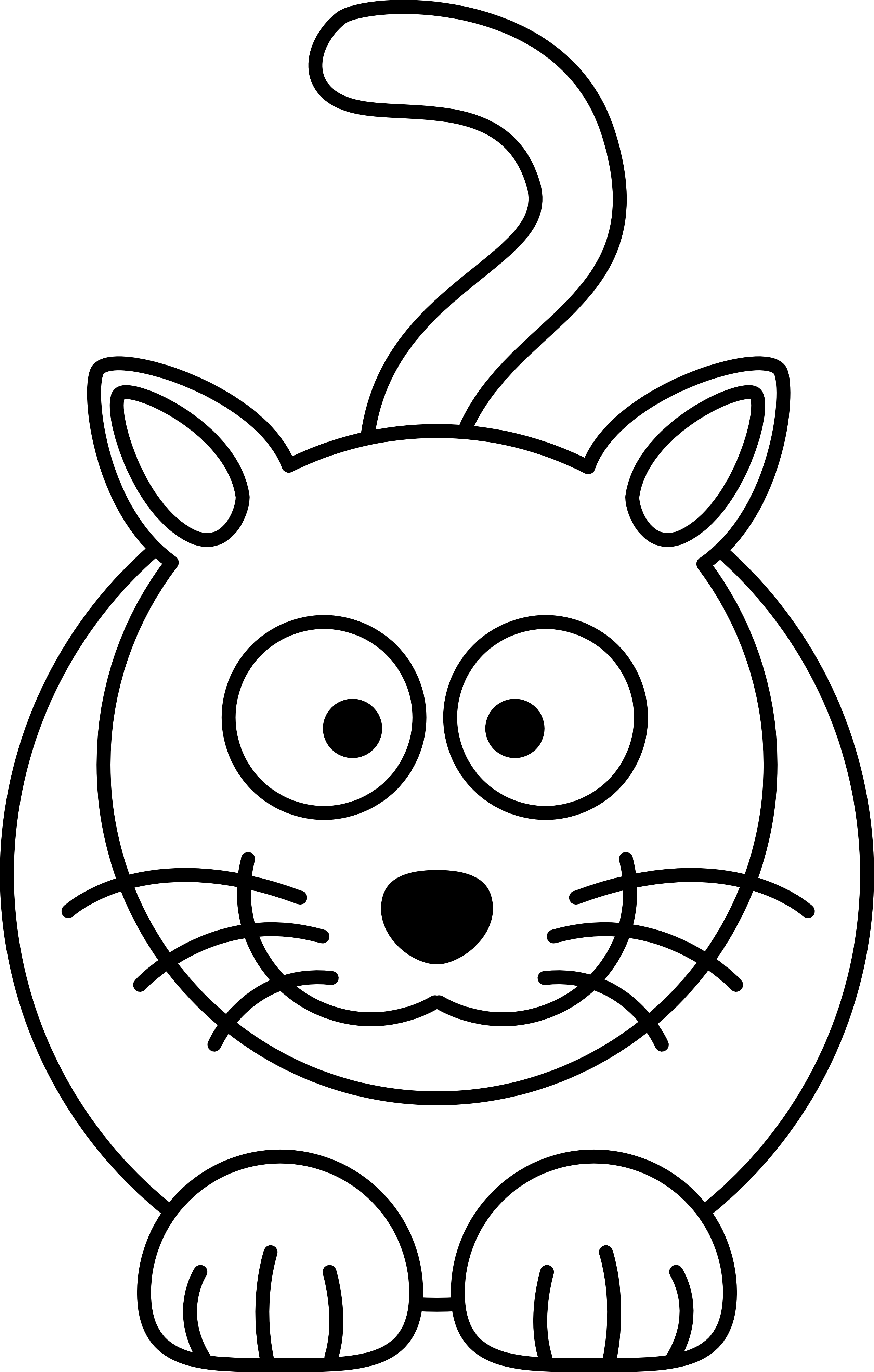 White clipart cat face Kitten clipart free Kitten black