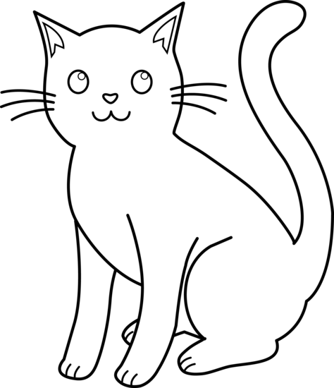Sketch clipart cute cat Clip ~I♥Love Art Cat Art