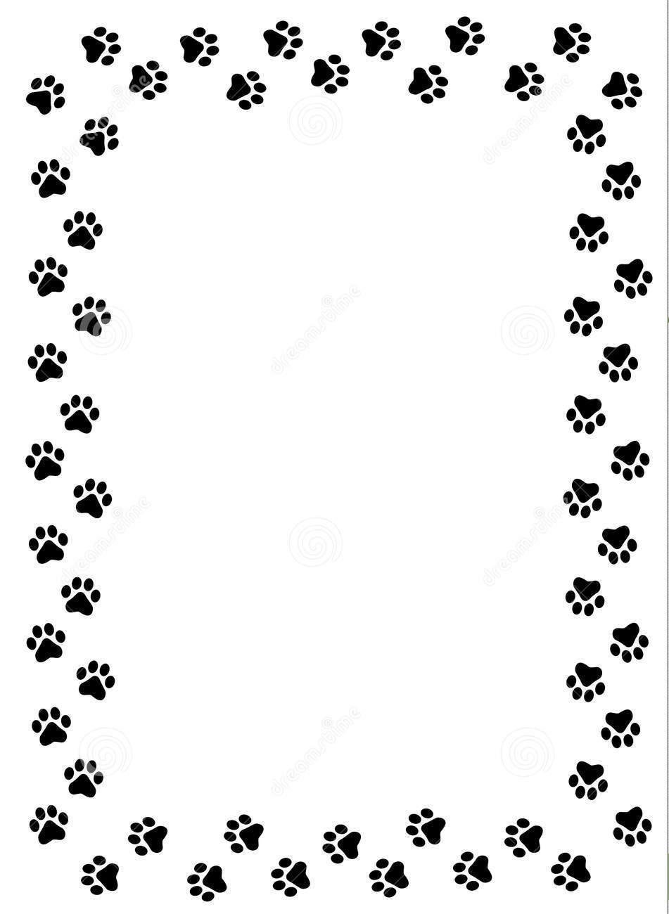 Pets clipart boarder Jerr jerr free borders clip