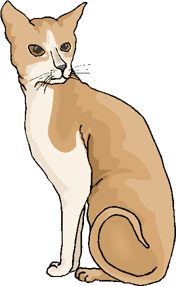 Cat clipart brown The Clipart Free Clipart Free