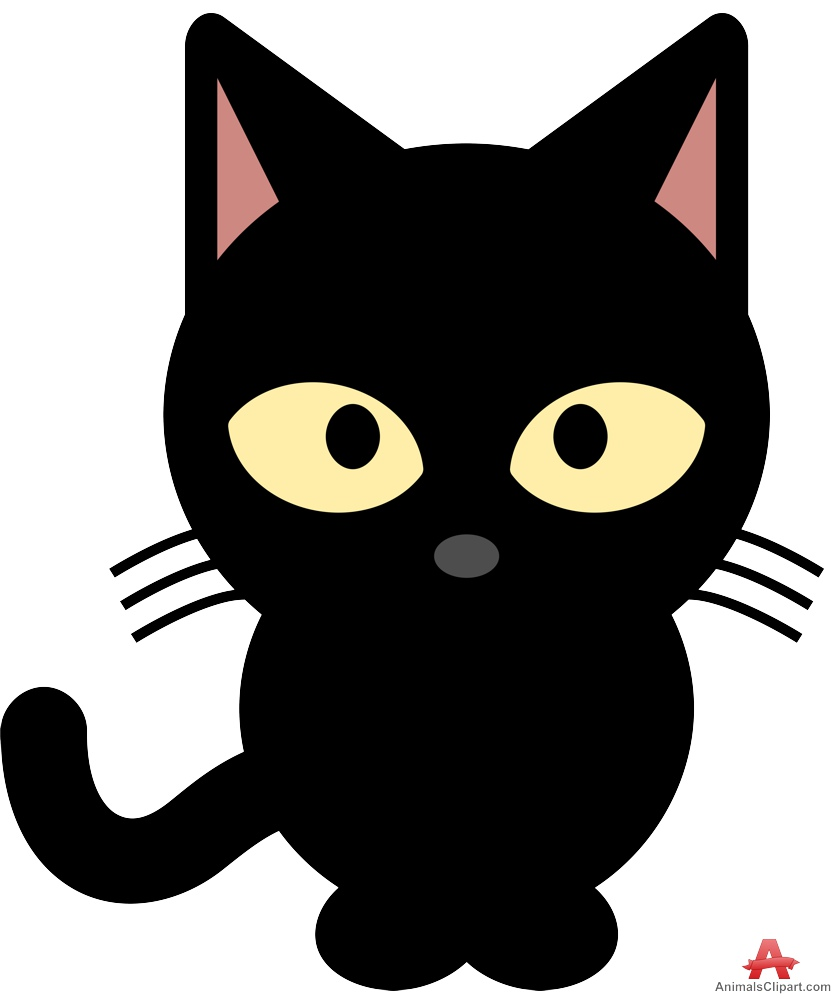 Cat clipart little cat Yellow Eyes keywords with the