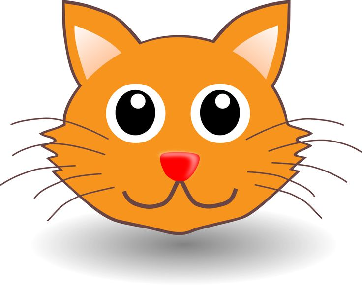 KITTENS clipart cat face Clipart Art to Faces Clip