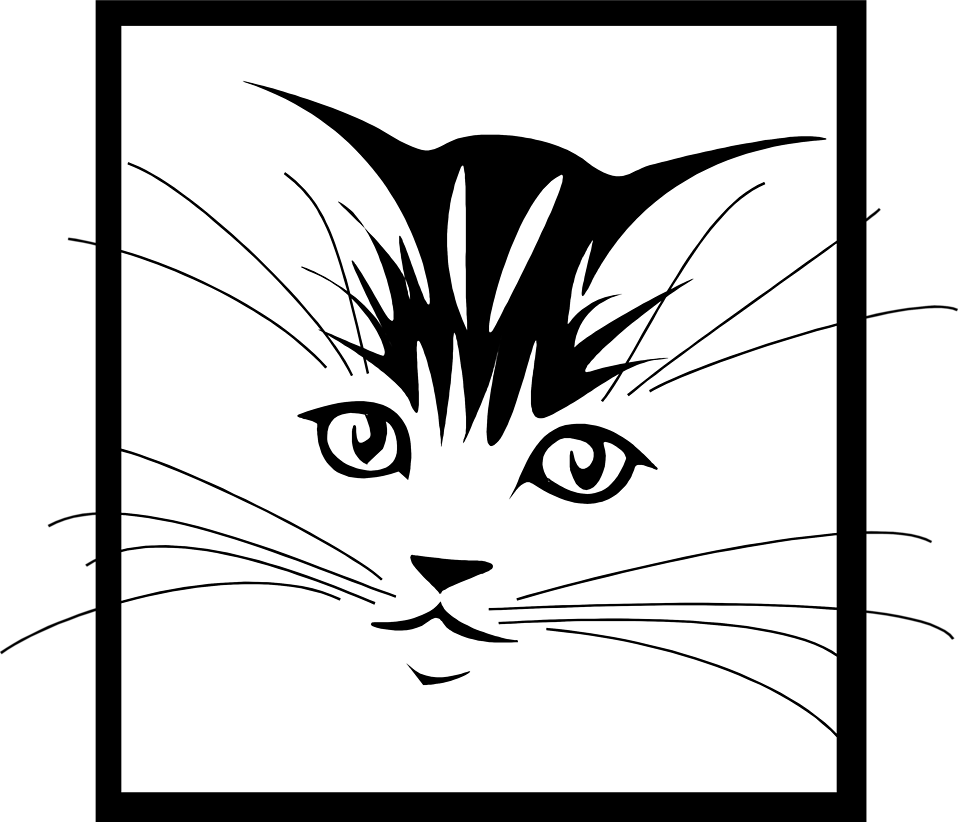 KITTENS clipart cat face A Stock face of Free