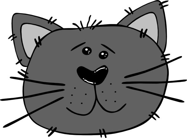 KITTENS clipart cat face And 38 together puppies Search