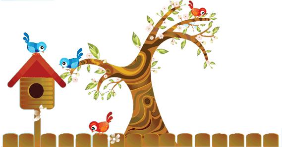 Tree clipart cat #4