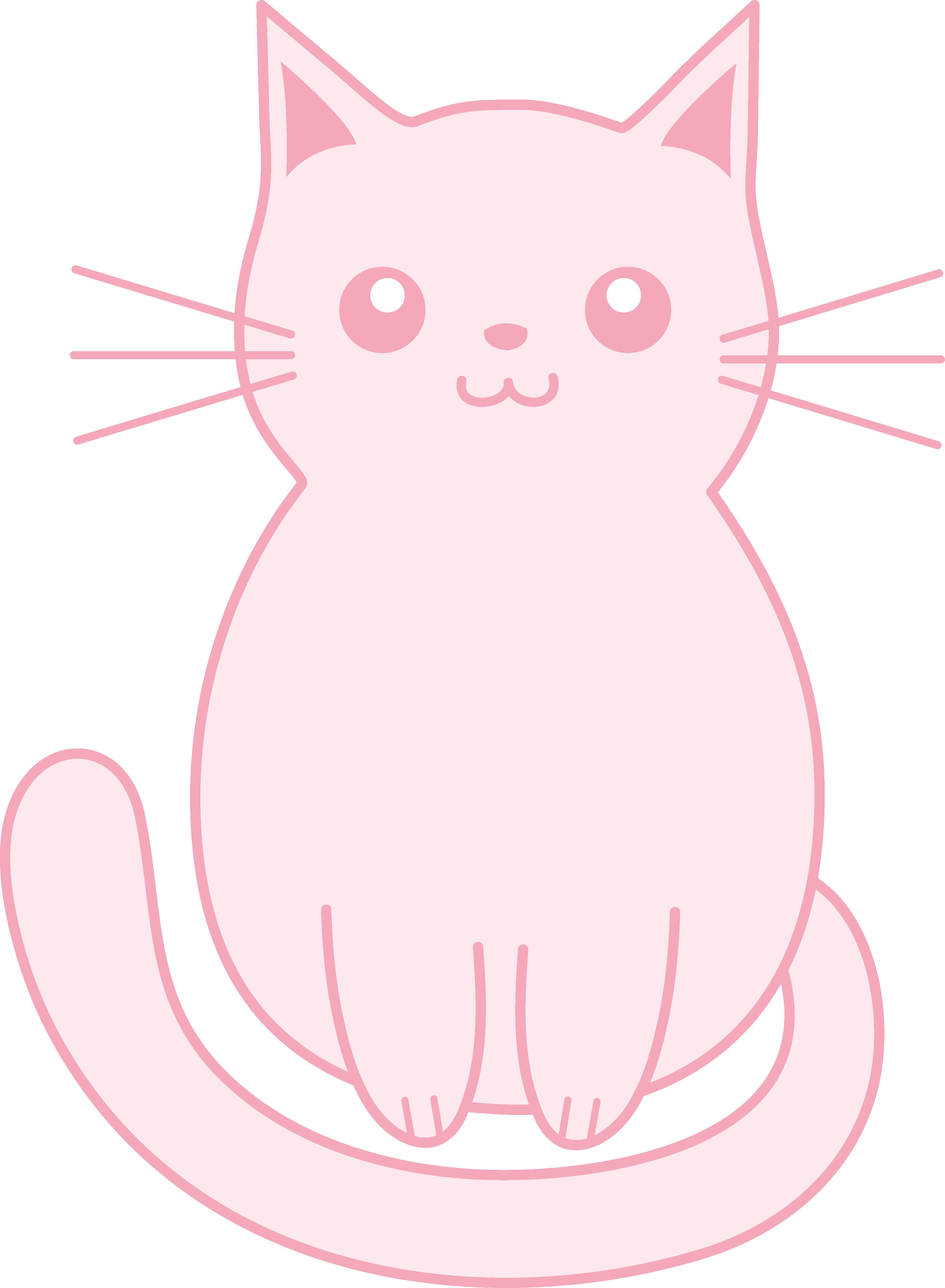KITTENS clipart cute Pink Art Kitten Clip cute
