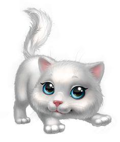 KITTENS clipart cute White Pinterest Clipart Kitten Grey