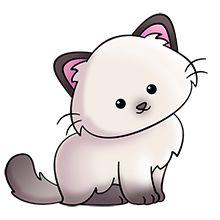 Persian Cat clipart Art Animal cute Plus PatternsCute
