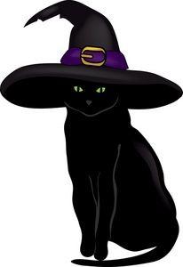 Black Cat clipart black kitten Black Stock Images Black Cat